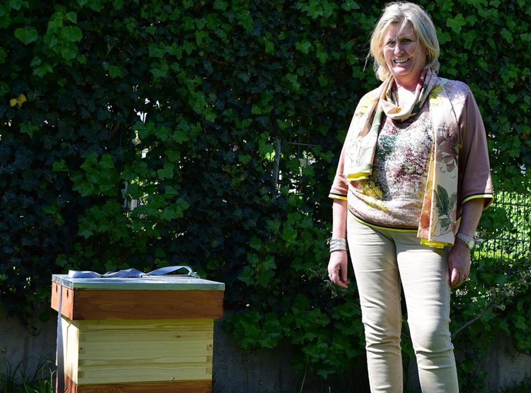 Belinda komt op voor de bijen