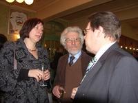 Jozef Vanderstraeten in gesprek met parlementairen