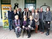 Groepsfoto van het N-VA bestuur (Viviane ontbreekt)