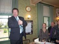 Volksvertegenwoordiger Koenraad Degroote als gastspreker