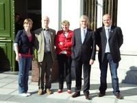 Raadsleden N-VA Wervik bij Minister Bourgeois
